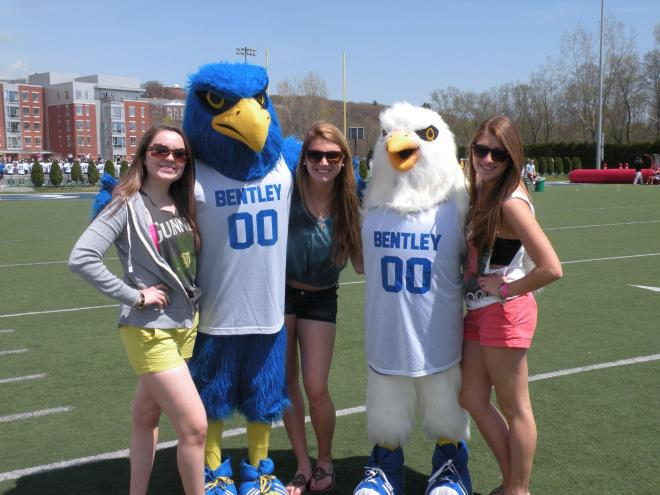 Flex and Blizzard with some lady friends on Spring Day